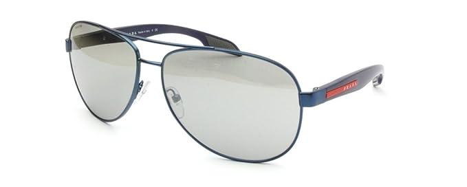 e08437c438c63 Sunglasses for man Prada Linea Rossa PS53PS ACC2B0 BENBOW - width 62   Amazon.co.uk  Clothing