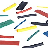 DEDC 530Pcs Heat Shrink Tubing with Case 8 Size 5