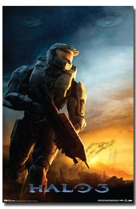 HALO 3 POSTER Dawn RARE HOT NEW 24X36