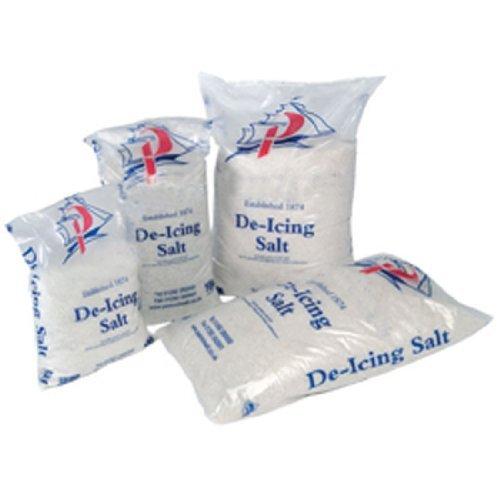 White De-icing Rock Salt 25Kg Bag