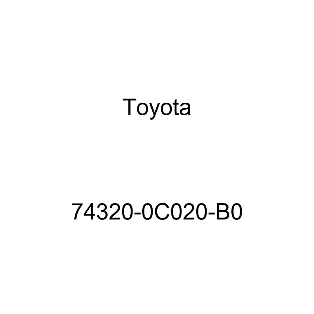 TOYOTA Genuine 74320-0C020-B0 Visor Assembly