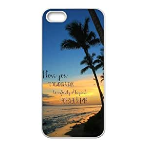 custom iphone5,iphone5s Case, I love you to the moon and back cell phone case for iphone5,iphone5s at Jipic (style 1)