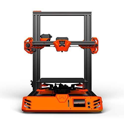 HOMERS/TEVO Tarantula Pro 3D Printer Kit with 235x235x250mm Printing Size MKS GenL Mainboard 0.4mm Volcano Nozzle Support 1.75mm Filament