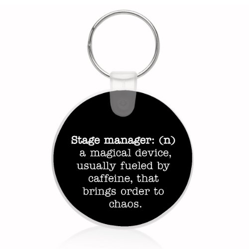 Stage Manager Definition Key Ring (Definition Keychain)
