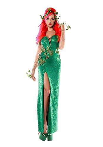 Starline, Llc. Elegant Ivy Costume Medium (Female Villain Costume)