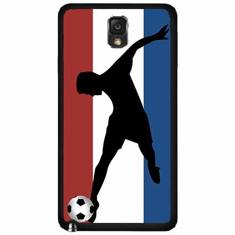fan products of World Cup France Soccer TPU RUBBER SILICONE Phone Case Back Cover Samsung Galaxy Note III 3 N9002 includes BleuReign(TM) Cloth and Warranty Label