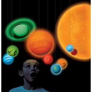 Amazon.com: Smithsonian Solar System Full Color 3-d Glow ...