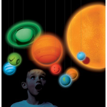 Smithsonian Solar System Full Color 3 D Glow In The Dark Educational Tool