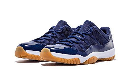 Nike Air Jordan 11 Basso Blu Navy Taglia 10 Mens Us 528895-405