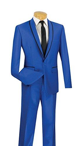 Men's Fashion Slim Fit Wedding Tuxedo Shawl Lapel - Outlets Chicago Fashion If