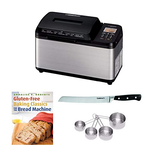 Zojirushi BB-PDC20BA Home Bakery Virtuoso Plus Breadmaker, (2 lb. loaf) Bundle with 8