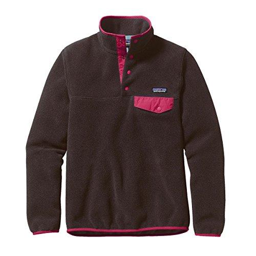 Patagonia Femme Legere Snap-t Sweater Over Pull - Nickel W / Encre Verte Galah Noir