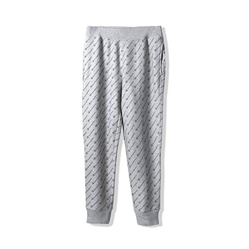 Champion LIFE Men's Reverse Weave Jogger-Print,diagonal tonal script oxford grey,3X LARGE