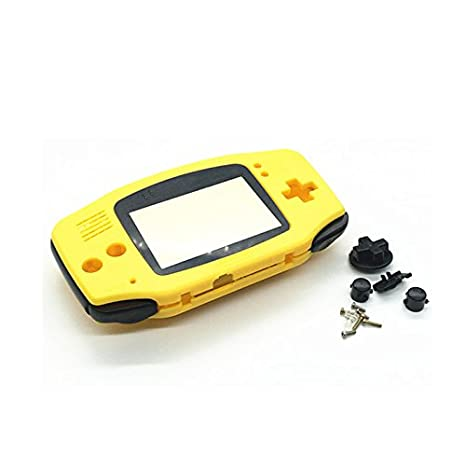 Haodasi Yellow reemplazo Housing Shell Case Cover w/Black ...