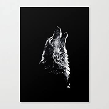 Delightful Amazon.com: DKISEE Wolf Art Canvas Wall Art Prints 12 X 16 Inch Framed  Modern Decor Paintings Artwork For Living Room And Bedroom Decorations:  Posters U0026 ...