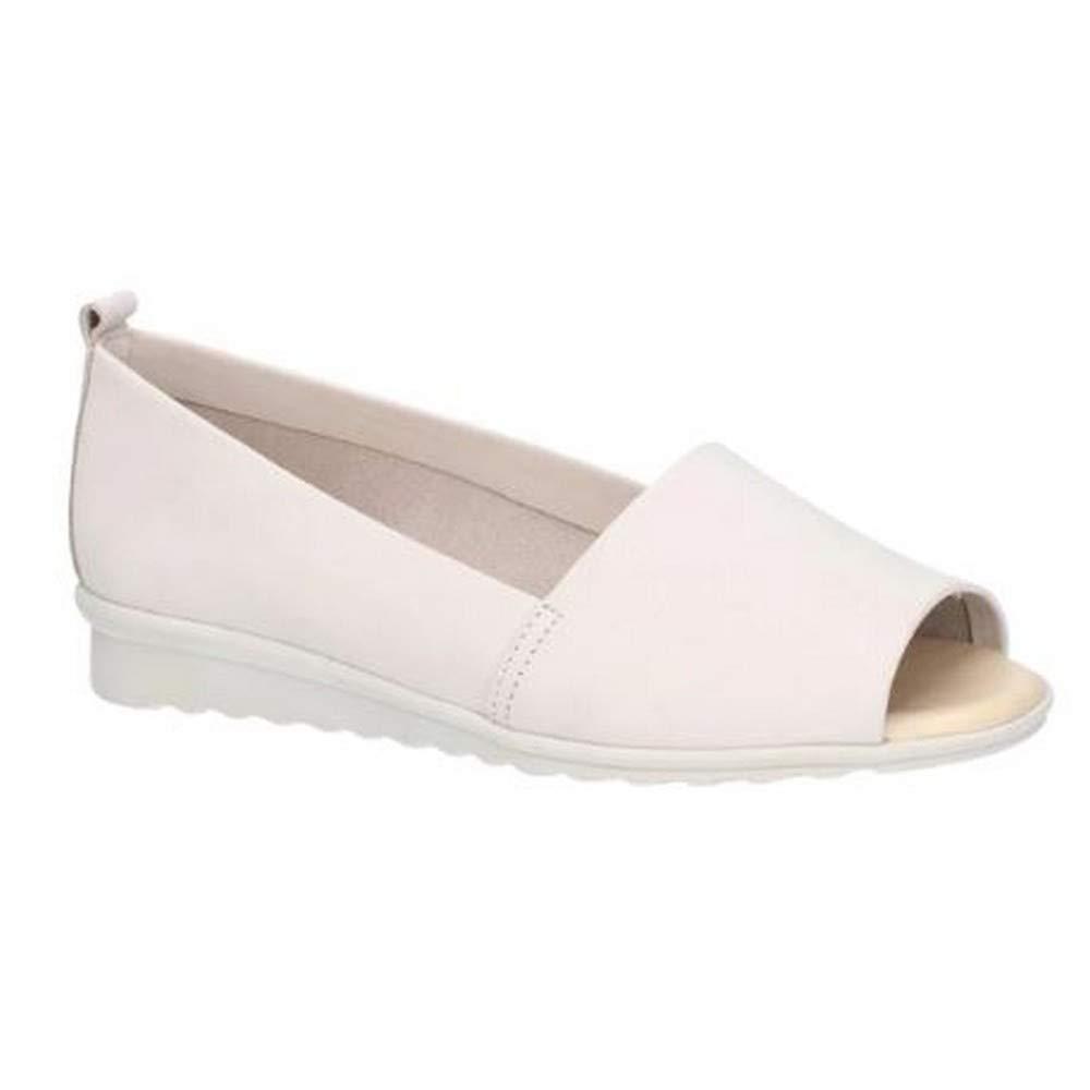 Zapato Fantastic de Piel con Puntera Abierta para Mujer se/ñora The Flexx