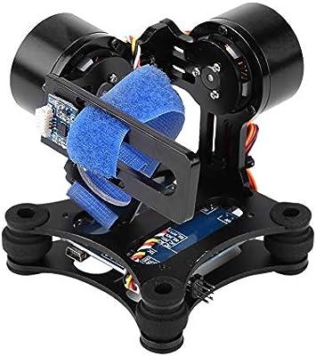 Cardán sin escobillas, tablero de cardán sin escobillas de metal para cámara GoP ro 3/3+/4 La pieza RC que está equipada con motor es buena para la disipación de calor(#1): Amazon.es: Industria,