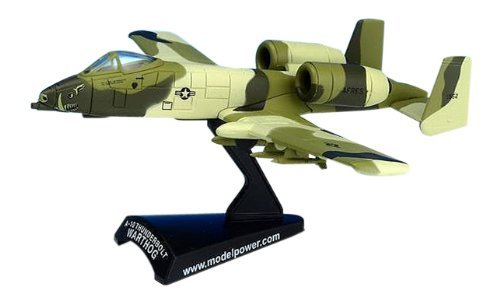 1/100 Die-Cast A-10 Warthog, Peanut by Model Power (Model A10 Diecast Warthog)
