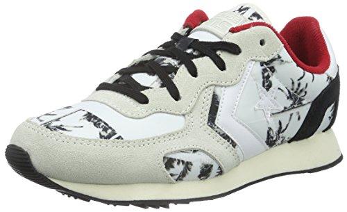 Converse Auckland Racer Ox NY/Suede PRI, Sneaker, Unisex - Adulto Bianco