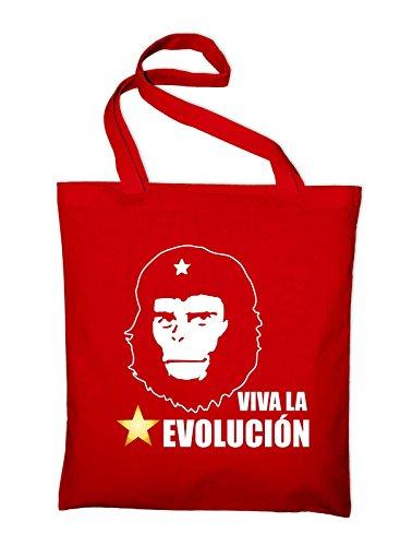 La Jute Viva Styletex23bagsvle5 Evolution In Evolucion And Bag Red Cotton Fabric Bag red Tasche 61dqFd