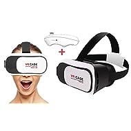 """TopAce 360 Affichage de réalité virtuelle immersive 3D VR virtuelle avec Bandeau réglable pour Apple iPhone SE / iPhone 6S / iPhone 6S Plus iPhone iPad Samsung Galaxy ou Autres Appareils Mobiles Android etc 4.0"""" ~ 6.0"""" Smartphones"""
