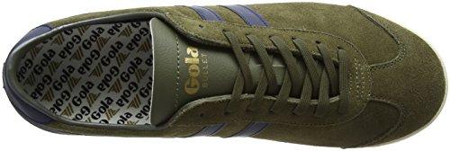 Navy Khaki Gola Sneaker Bullet Men's Suede Fashion 6TYHZFB