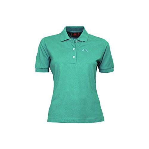 Piquet Stretch Dk Di Polo T Sport Kappa Mare Shirt Golovin Robe Art Maglia Turquoise Donna F1Aw0qq