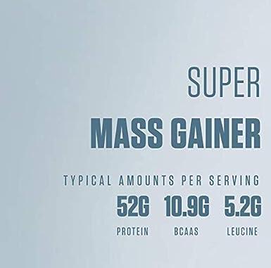 Super Mass Gainer (5,44 kg)