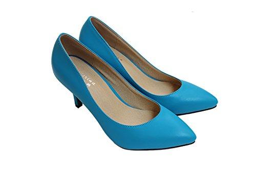 CFP - Sandalias con cuña mujer Azul