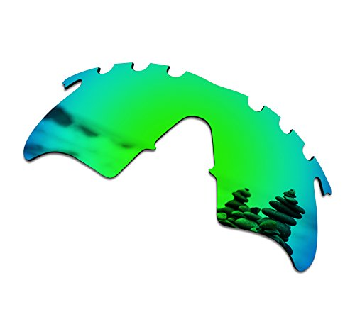 SmartVLT Men's Emerald Green Replacement Lenses for Oakley M Frame Heater Vented Sunglass -
