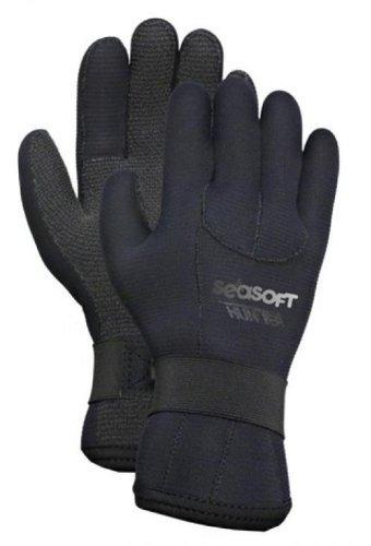 Seasoft 2/3mm Kevlar Reinforced Hunter Gloves - X-Small