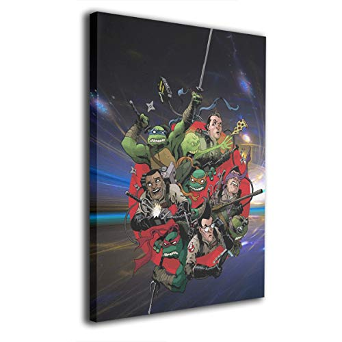 Cheny Ghostbusters -Photo Paintings Contemporary Canvas Wall Art Prints Home Decoration Giclee Artwork-Wood Frame Gallery Wrapped -