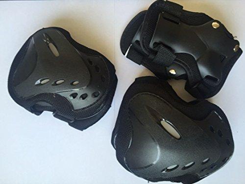 6 tlg. Protektoren Set für Erwachsene, Rollerskates, Inliner, Skates, Schützer