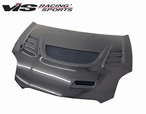 VIS Racing (VIS-QYU-437) Black Carbon Fiber Hood G Speed Style for Mitsubishi Eclipse 2DR 06-12 ()