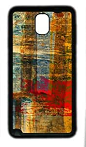 Art Abstract Grunge Graphic TPU Black Case for Samsung Galaxy Note 3 by April's House