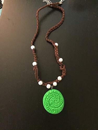 Princess Moana Te-Fiti Necklace, Tefiti Heart Necklace, Heart of Tefiti Necklace