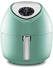 Ultrean 8.5 Quart Air Fryer, Electric Hot Air Fryers XL Oven Oilless Cooker with 7 Presets, LCD Digital Touch Screen and Nonstick Detachable Basket, UL Certified, Cook Book, 1-Year Warranty,1700W