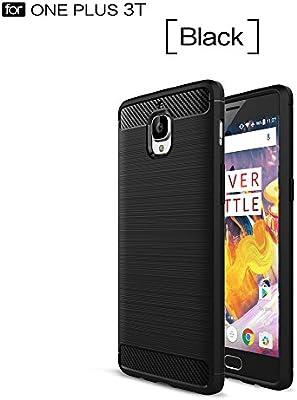 YHUISEN Funda OnePlus 3T, Armadura Ultra Fibra de Carbono de ...