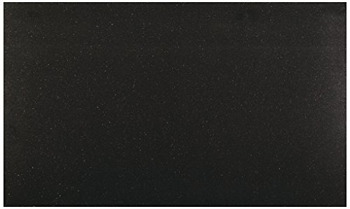 Black Galaxy Granite Countertops - Dal-Tile G77212241L- Granite Tile, Galaxy Black Polished, Pack of 5