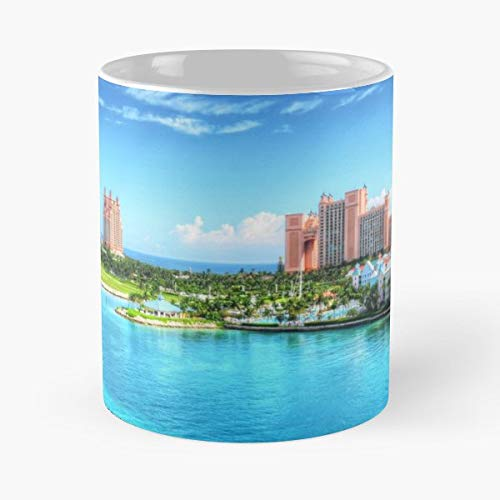 - Atlantis Resort Paradise Island Beach Nassau - Funny Gifts For Men And Women Gift Coffee Mug Tea Cup White-11 Oz.
