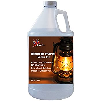 Amazon.com: Firefly Paraffin Lamp Oil - 1 Gallon - Odorless ...