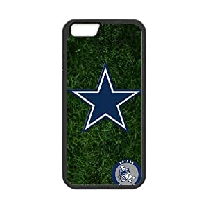 Dallas Cowboys Team Logo iPhone 6 Plus 5.5 Inch Cell Phone Case Black 218y3-104034