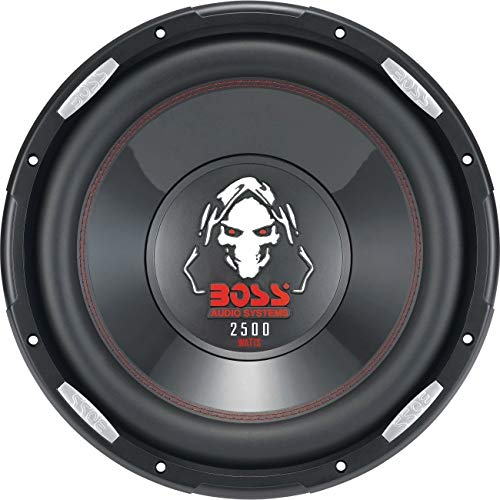 BOSS AUDIO P156DVC 2500 Watt, 15 Inch, Dual 4 Ohm Voice Coil
