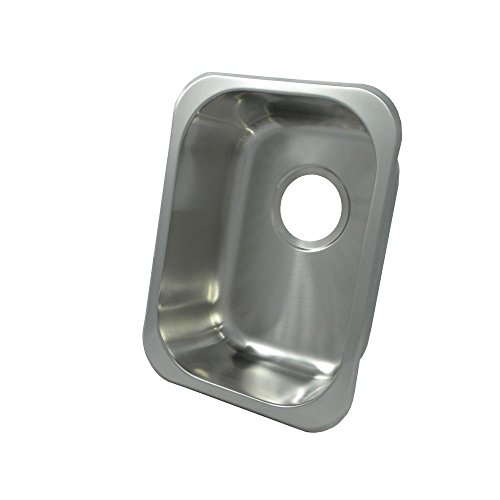 versal Mount Single Bowl Kitchen Sink, 16