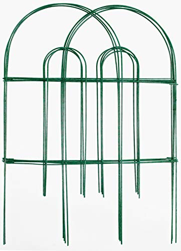 Origin Point Gard'n Border Round Folding Fence, Green, 24-Inch x 10-Feet-(42410)