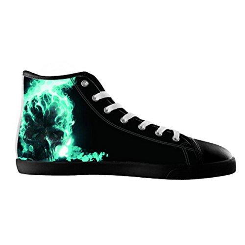 Zapatos De Lona De Lona Para Hombre Zapatos De Lona De Calavera11