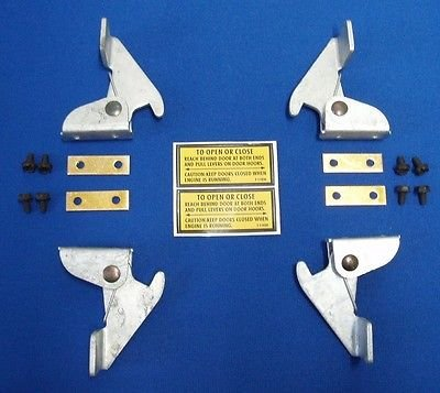 Oem Lincoln Welder Sa 200 Sa-250 Door Latch Set Complete W/ Decals by Lincoln