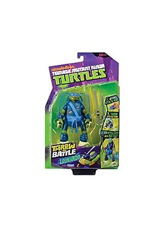 Playmates Tortugas Ninja - Raphael Throw N Batalla: Amazon ...