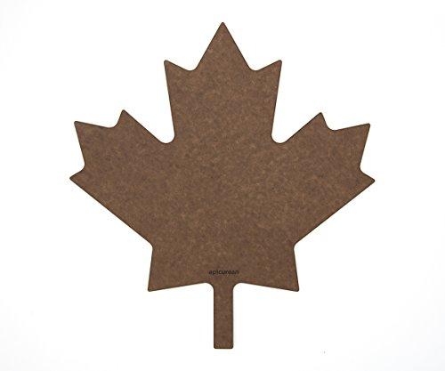 Nutmeg Leaf (Epicurean Cutting Surfaces Novelty Series Cutting Board, Maple Leaf, Nutmeg)