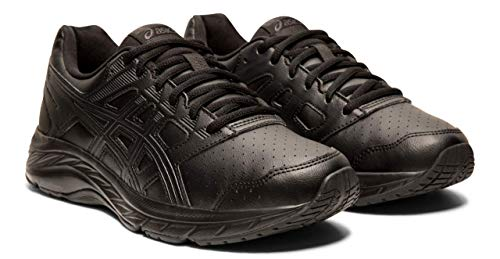 ASICS Gel-Contend 5 SL Women's Walking Shoes, Black/Graphite Grey, 8.5 M US (Best Looking Walking Shoes For Women)